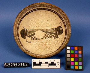 Mimbres Pot with 'Repaired' Kill Hole