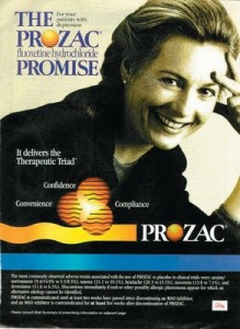 Prozac ad (reprinted courtesy of MindFreedom.org)