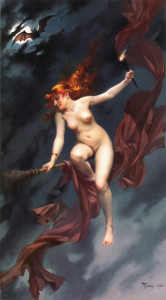 Witch, Falero, 1880