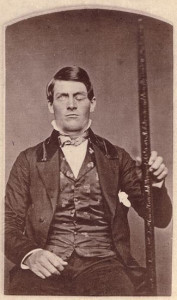 Phineas Gage (courtesy of Harvard Univ)