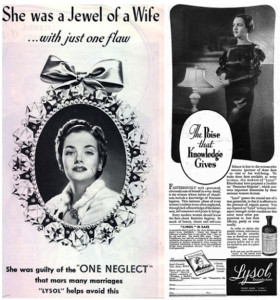 Lysol ad (courtesy of Mother Jones)