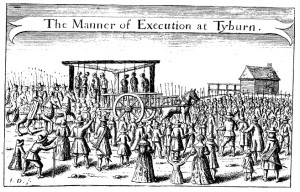 The Gallows at Tyburn