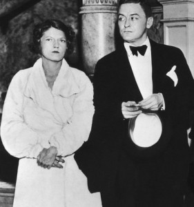 Zelda and Scott in 1935