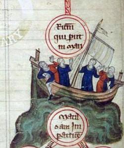 White Ship Sinking