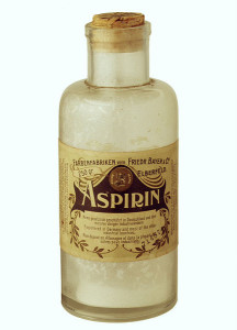 aspirin bottle 1899