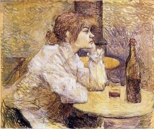 Lautrec's 'The Drinker'