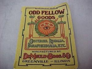 early IOOF catalogue