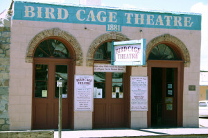 the Bird Cage Theatre