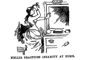 an illustration from Nellie Bly's book