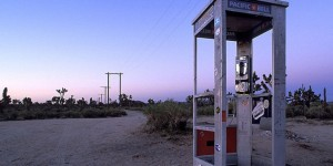 the Mojave Phone Booth
